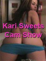 Kari Sweets Cam Show