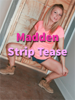 Meet Madden Strip Tease