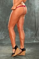 Toned legs from all the Sport
