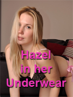 AloneWithHazel in her Underwear