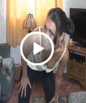 VIDEO: Downblouse Workout Fun