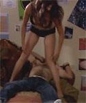 Video/Pics: Rachel Specter Strips to her Bra and Panties in the Film Bald