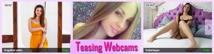 Teasing Webcams