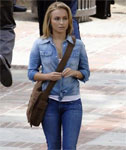 Hayden Panettiere looking Cute in Jeans