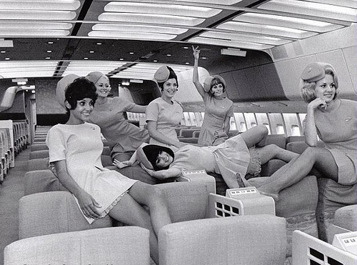 60's Flight Attendants