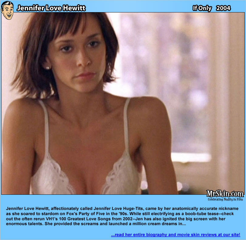 White Bra - Jennifer Love Hewitt