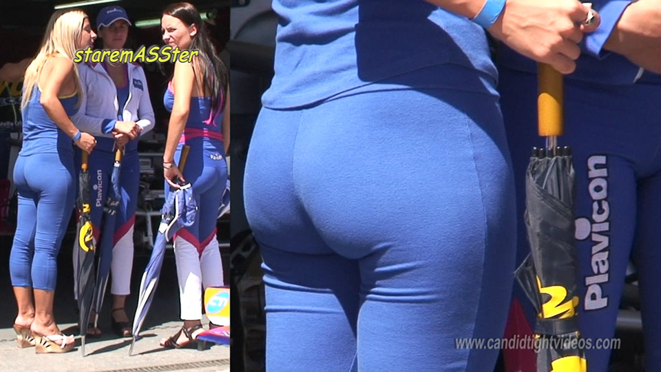 Lovely Spandex Ass