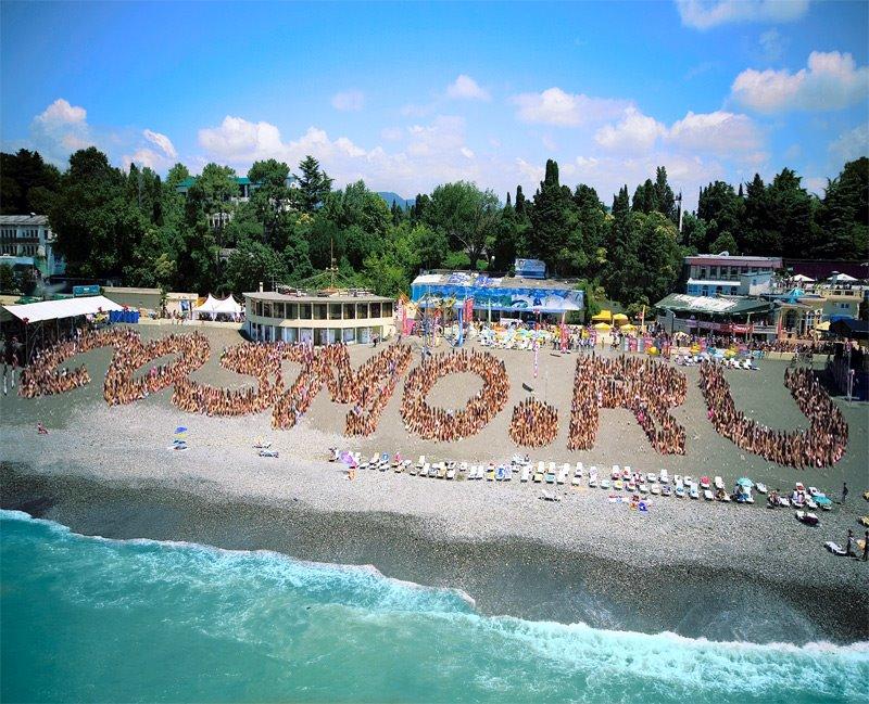 2000 Bikini Girls in Sochi