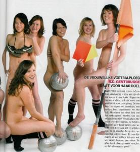 Belgium Soccer Girls Naked