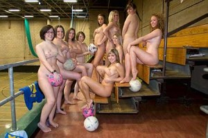 Salford Netball Team Naked