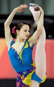Sasha Cohen is a Pro Ice Skater