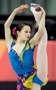 Sasha Cohen is a Pro Ice Skater