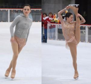 Upskirt figure skating pics