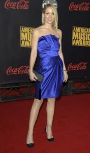 Classy Blue Dress - Christina Applegate