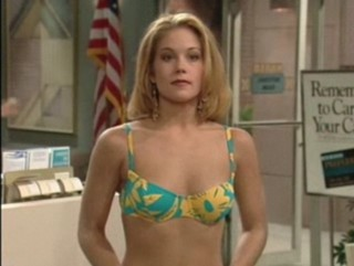 Christina Applegate in a Bikini Top