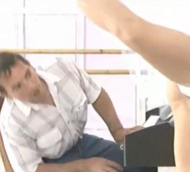 Oops Upskirt - Ballet Dancer