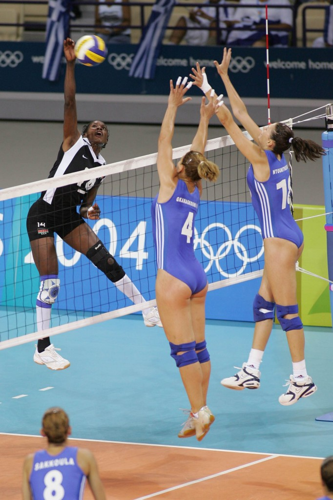 Sexy Greek Volleyball