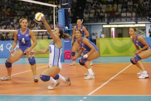Hot Greek Volleyball Girls