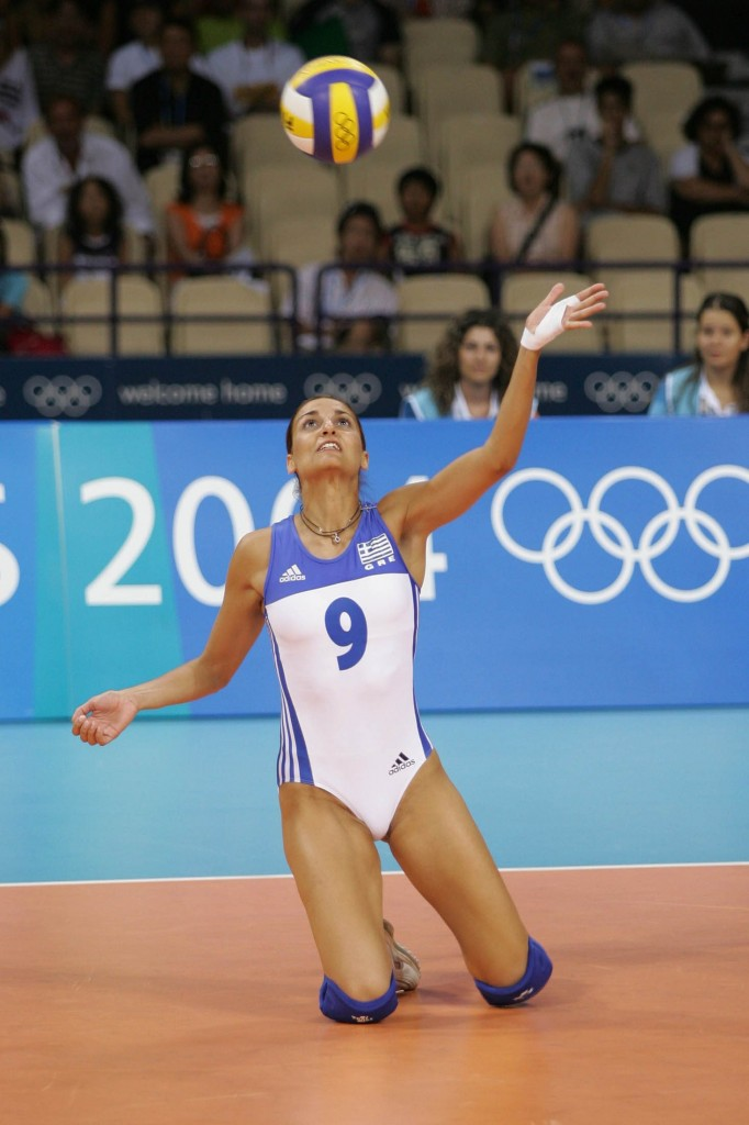 Greek Volleyball Cameltoe
