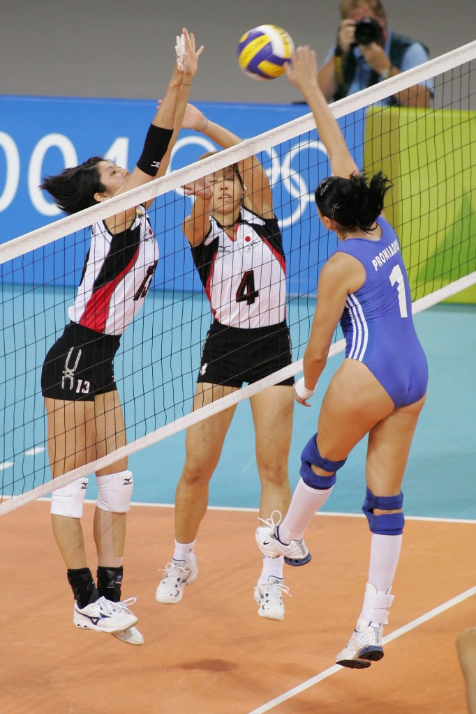 Lovely Ass - Greek Volleyball Team