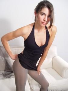 Skirt Lift - Non Nude Sophia