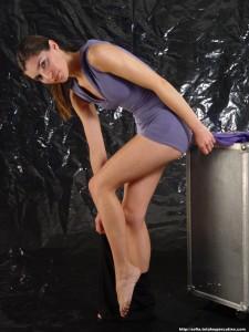 Cute Non Nude Gymnast - Sophia