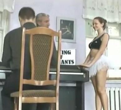 Non Nude Ballet Dancer Upskirt