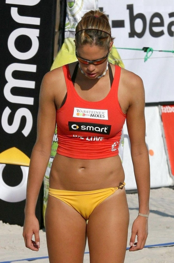 Tight Volleyball Bikini Bottoms - Makes Your Heart Skip a Beat