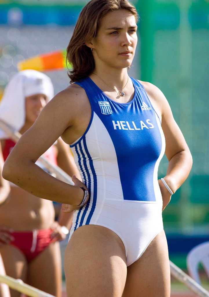 Leotard Cameltoe - WOW