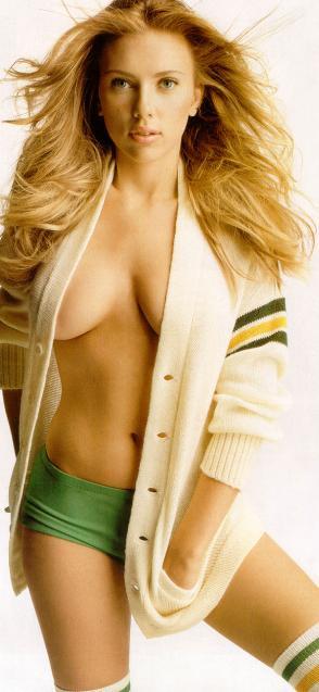 Scarlett Johansson Breasts
