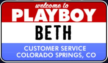 Beth works in Customer Services in Colorado Springs