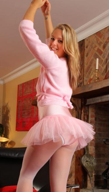 Ballet Upskirt