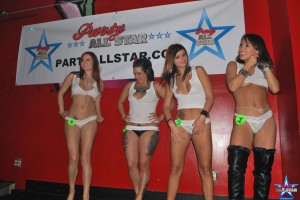 Party Girls on Stage