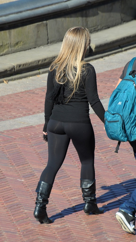 Tight Leggings Lovely Ass Candid