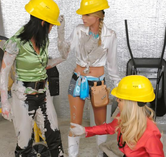 Messy Construction Girls