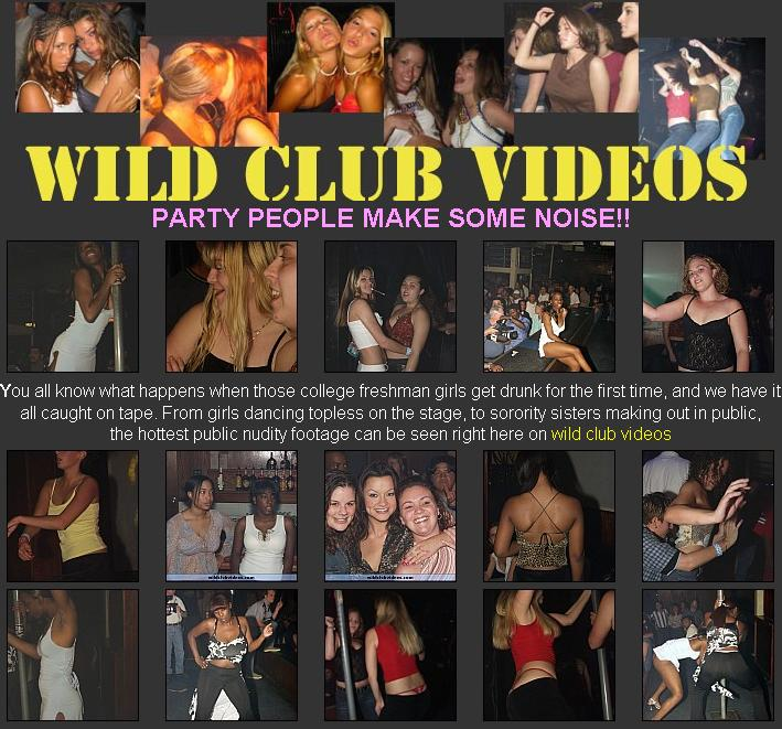 Wild Club Videos - Drunk Girls