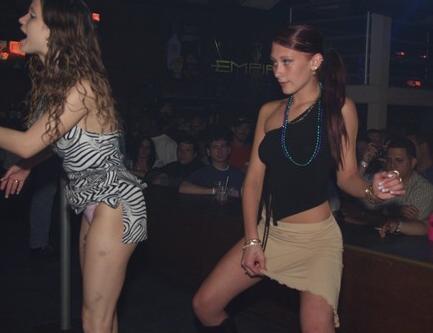 Classy Short Skirt Girl