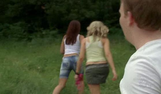 Would you miss out on the opportunity of watching these two hotties get undressed in the woods?