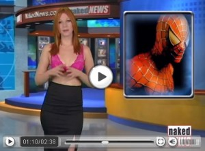 Spideman is in the news