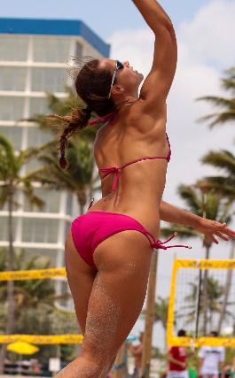 Lovely Sporty Volleyball Ass - Super Cute