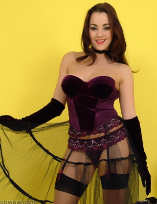 Revealing Skirt - Hot Pin Up Jodie