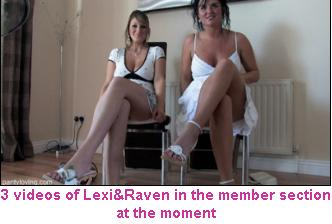 Lexi and Raven - Oops Upskirts
