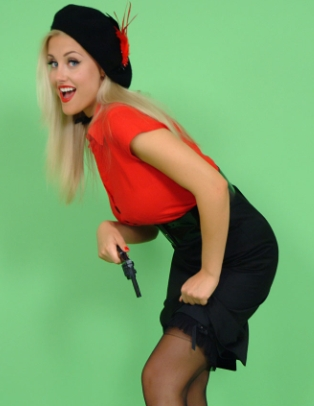 Pin Up Spy - Sarah