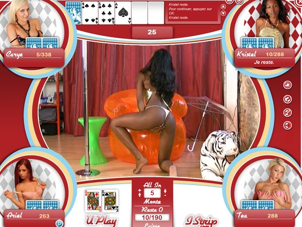 free texas holdem strip poker