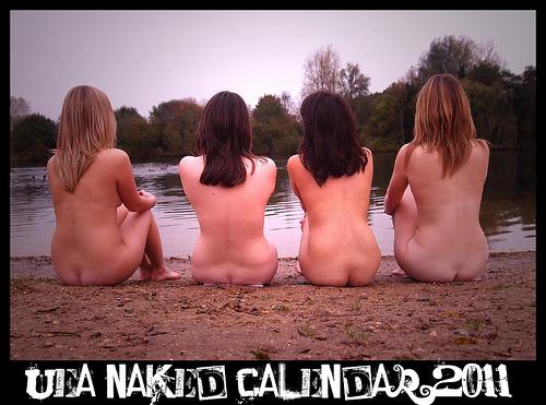 UEA Naked Calendar