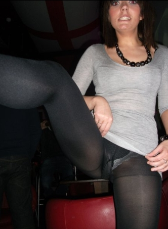 Pantyhose Upskirt For Fun