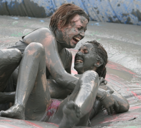 Mud Fest Bikini Wrestling - We need a Close Up I say