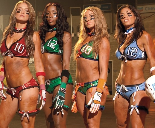 Lingerie Football League Girls
