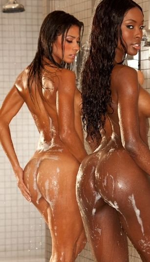 The Girls let the Cameras in the Showers - WOW!!