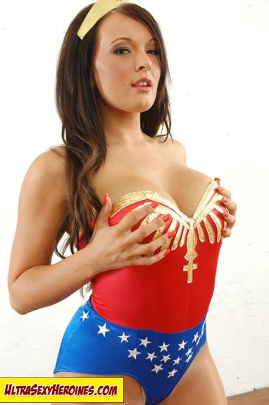 Wonderwoman Handbra